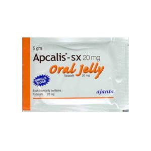 Köpa Tadalafil: Apcalis SX Oral Jelly Pris