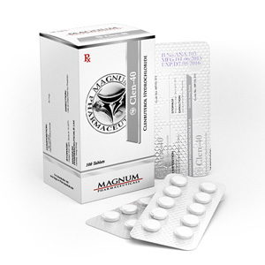 Köpa Clenbuterolhydroklorid (Clen): Magnum Clen-40 Pris