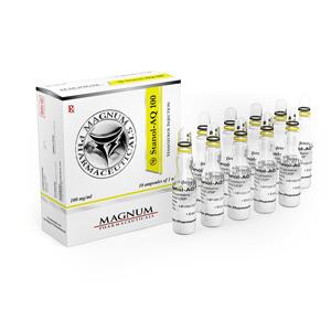 Köpa Stanozolol injektion (Winstrol depå): Magnum Stanol-AQ 100 Pris