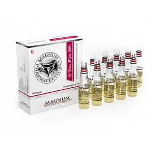 Köpa Sustanon 250 (Testosteron mix): Magnum Test-Plex 300 Pris