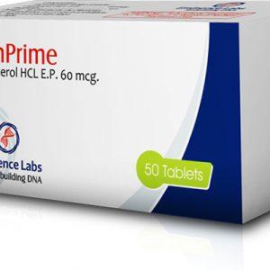Köpa Clenbuterolhydroklorid (Clen): Klenprime 60 Pris