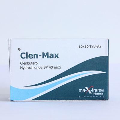 Köpa Clenbuterolhydroklorid (Clen): Clen-Max Pris