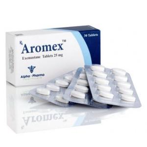 Köpa Exemestane (Aromasin): Aromex Pris