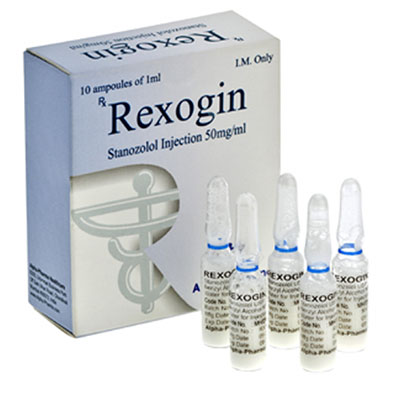Köpa Stanozolol injektion (Winstrol depå): Rexogin Pris