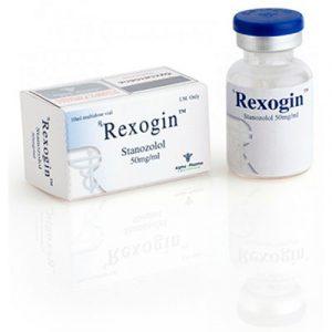 Köpa Stanozolol injektion (Winstrol depå): Rexogin (vial) Pris