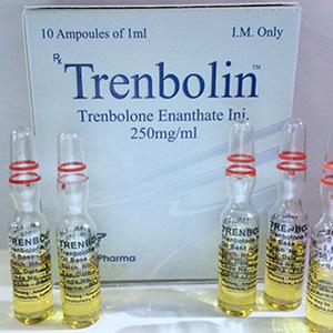 Köpa Trenbolone enanthate: Trenbolin (ampoules) Pris