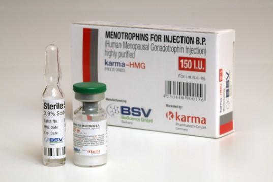 Köpa Human Growth Hormone (HGH): HMG 150IU (Humog 150) Pris