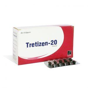 Köpa Isotretinoin (Accutane): Tretizen 20 Pris