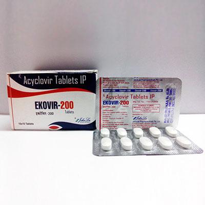 Köpa Acyclovir (Zovirax): Ekovir Pris