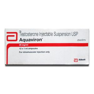 Köpa Testosteronsuspension: Aquaviron Pris
