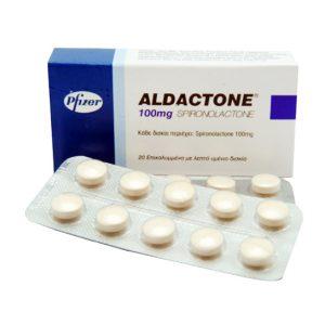 Köpa Aldakton (Spironolakton): Aldactone Pris